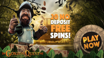 20 Free Spins on Gonzo's Quest