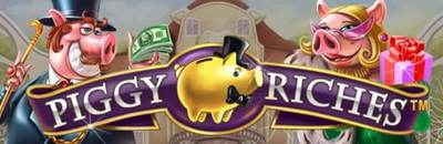 20 Free Spins on Piggy Riches at Mr. Green
