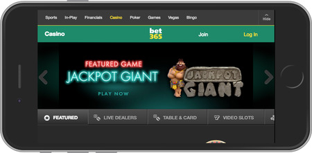 Bet365 Mobile Casino Review