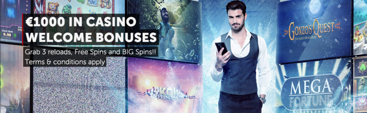 Betsafe Casino Welcome Bonus