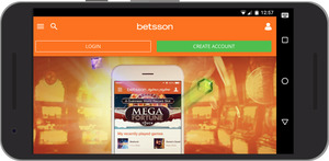 Betsson Casino Review - Mobile