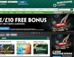 Casino Paddy Power background