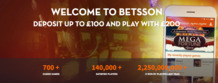 Double your initial deposit at Betsson