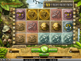Gonzo's Quest slot online for free