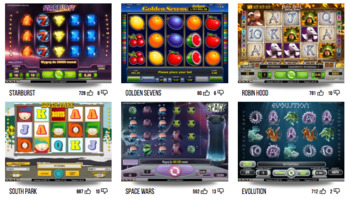 Our online casino reviews look at the video slot library