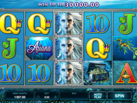 Play free Ariana slot by Microgaming
