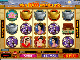 Play free Asian Beauty slot by Microgaming