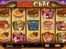 Play free Big Chef slot by Microgaming