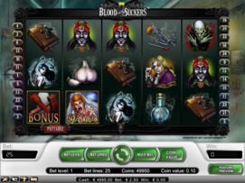 Play free Blood Suckers slot by NetEnt