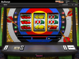 Play free Bullseye slot by Microgaming
