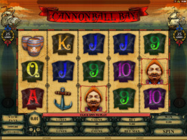 Play free Cannonball Bay slot by Microgaming