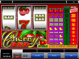 Play free Cherry Red slot by Microgaming