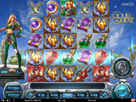 Play free Cloud Quest slot by Play'n GO