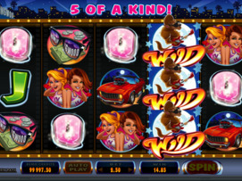 Play free Cool Wolf slot by Microgaming