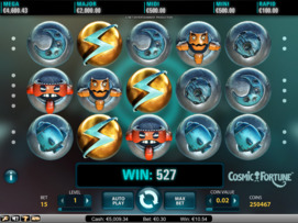 Play free Cosmic Fortune slot by NetEnt