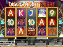 Play free Disco Night Fright slot by Microgaming