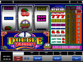 Play free Double Wammy slot by Microgaming