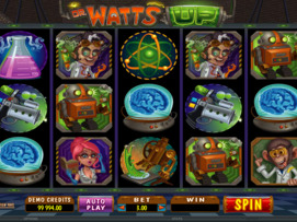 Play free Dr Watts Up slot by Microgaming
