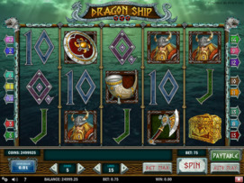 Play free Dragon Ship slot by Play'n GO