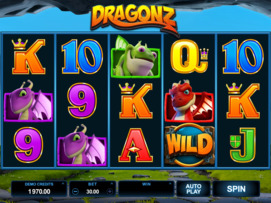 Play free Dragonz slot by Microgaming
