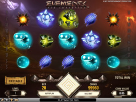Play free Elements The Awakening slot by NetEnt