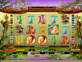 Play free Emperors Garden slot by Microgaming