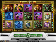 Play free Excalibur slot by NetEnt