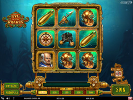 Play free Eye of The Kraken slot by Play'n GO