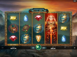 Play free Forbidden Throne slot by Microgaming