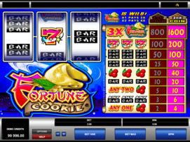 Play free Fortune Cookie slot by Microgaming