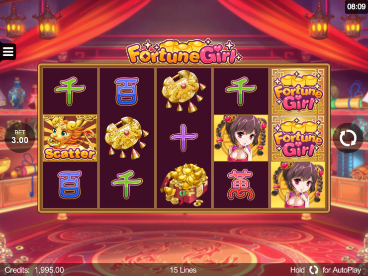 Play free Fortune Girl slot by Microgaming