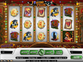 Play free Fortune Teller slot by NetEnt