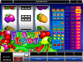 Play free Froot Loot slot by Microgaming