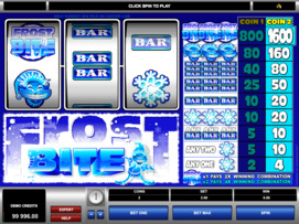 Play free Frost Bite slot by Microgaming