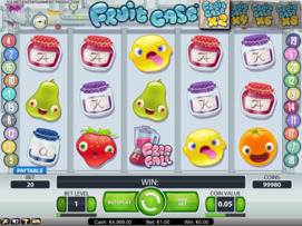 Play free Fruit Case slot by NetEnt