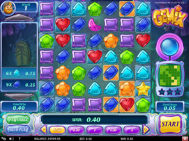 Play free Gemix slot by Play'n GO