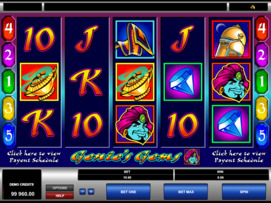 Play free Genies Gems slot by Microgaming