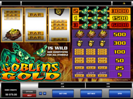 Play free Goblins Gold slot by Microgaming