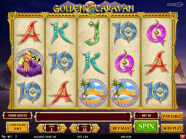 Play free Golden Caravan slot by Play'n GO