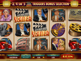 Play free Golden Era slot by Microgaming
