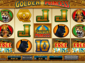 Play free Golden Princess slot by Microgaming