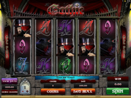 Play free Gothic slot by Microgaming