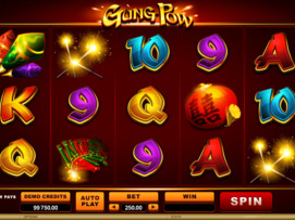 Play free Gung Pow slot by Microgaming