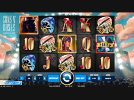 Play free Guns N' Roses slot by NetEnt