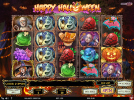 Play free Happy Halloween slot by Play'n GO