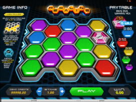 Play free Hexaline slot by Microgaming