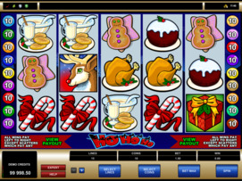 Play free Ho Ho Ho slot by Microgaming