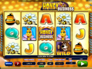 Play free Honey Buziness slot by Microgaming