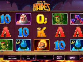 Play free Hot as Hades slot by Microgaming