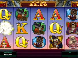 Play free Hound Hotel slot by Microgaming